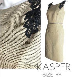 KASPER 4P SHEATH DRESS